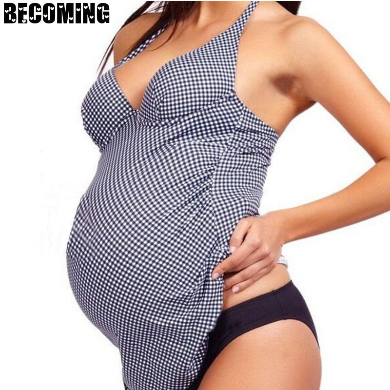 Maternity Swimwear Big Size Pregnant Swimsuit Beach Bathing Suits Pregnant Women Swimming Suit 5xl Plus Size Pregnancy Swimwear enlarge