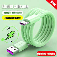 Liquid Silicone PD 5A Micro USB Wire Cord Type C Cable For iPhone 11 12 Pro Max Xiaomi Redmi Samsung Charger Fast Charging Cable