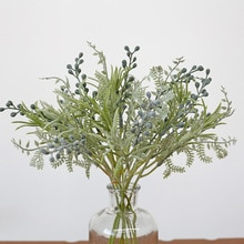 5 قطعة الزهور الاصطناعية البلاستيكية berries بها بنفسك التوت باقة ل ديكورات منزلية لحفل الزفاف اكسسوارات صور الدعائم غرفة المعيشة وهمية الزهور