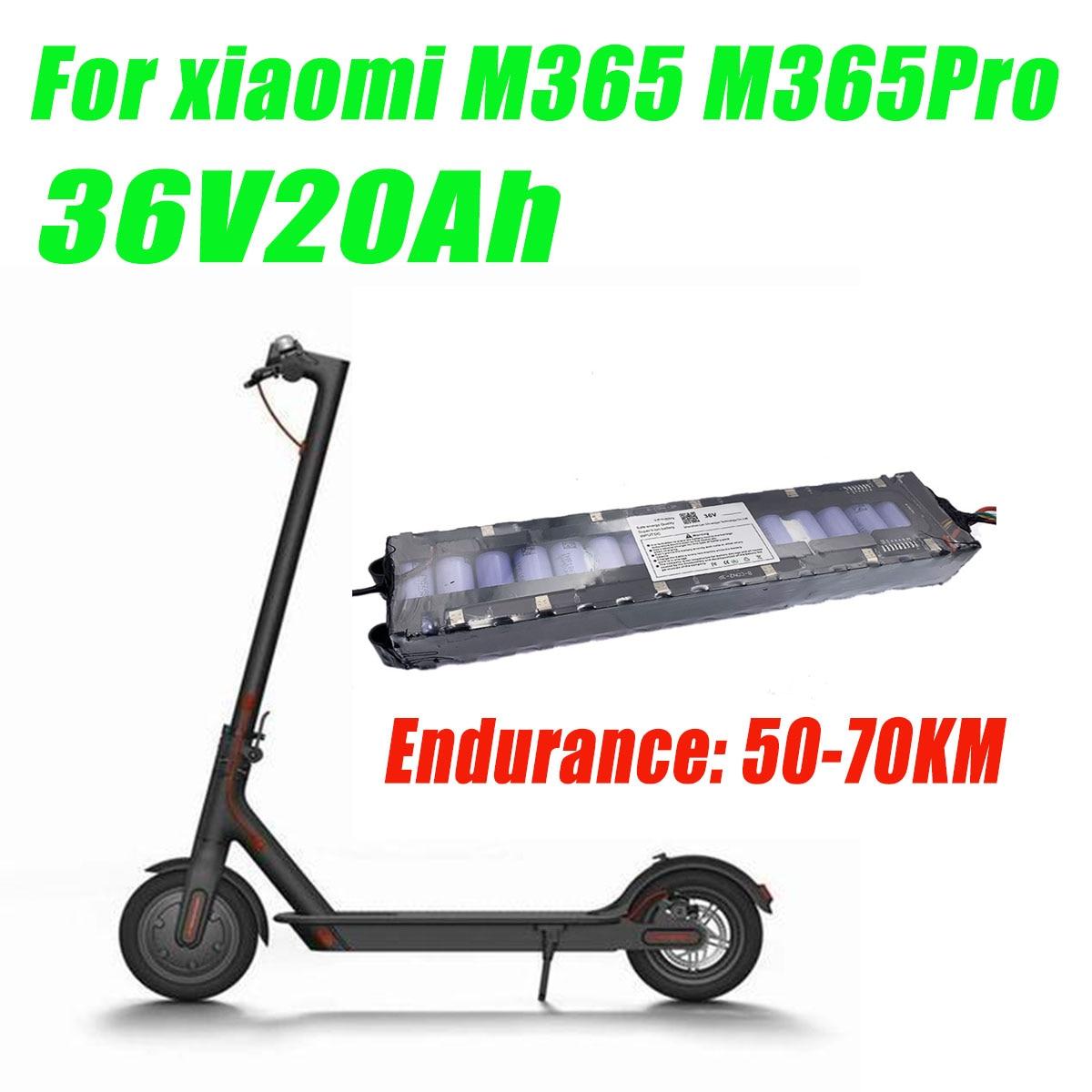 سامسونج 18650 بطارية ليثيوم 20A مع BMS 36 فولت 20000mAh ل شاومي Mijia m365 برو دراجة كهربائية سكوتر