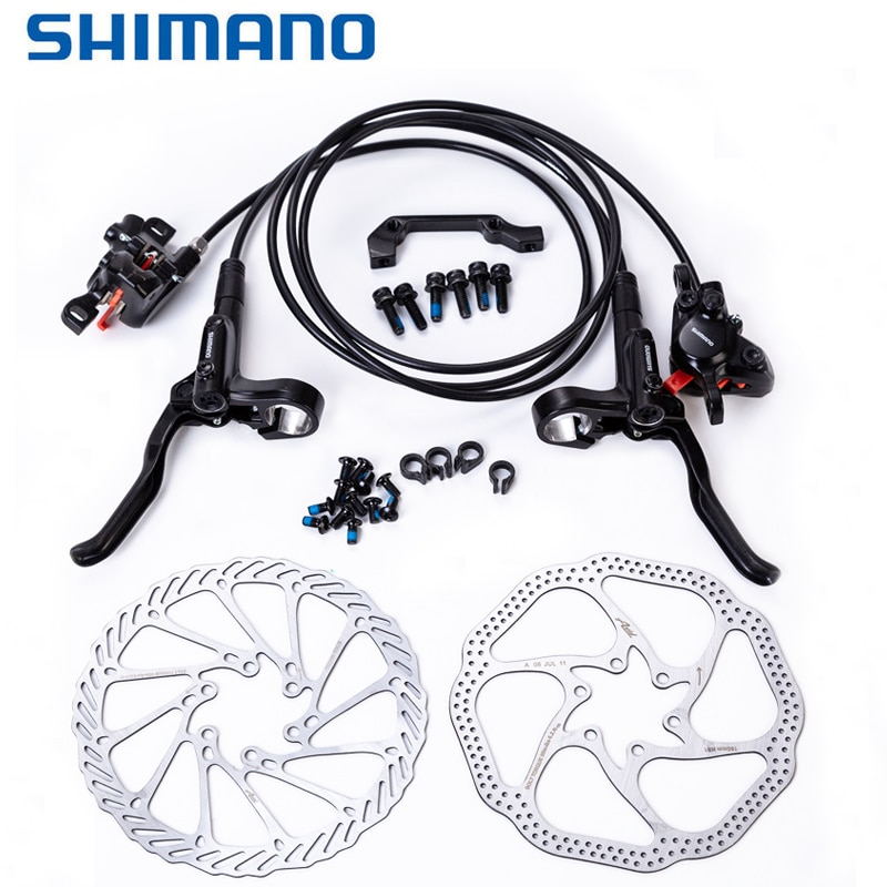 Original Shimano MT200 Brake MTB Mountain Bike Hydraulic Disc Brakes Update for M315 Brake w/n G3 / HS1 Rotor  160mm