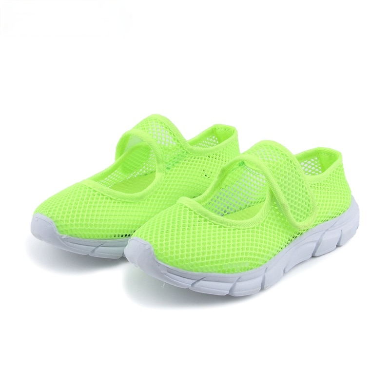 AliExpress - Children Sandals 2021 Fashion New Summer Shoes For Boys Girls Air Mesh Breathable Candy  Kids Beach Shoes Cut-outs Soft Hot