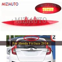 Светодиодный высокий позиционированный дополнительный стоп светильник для Honda Fit/Джаз 2014 авто Стайлинг стоп сигнала Предупреждение светильник