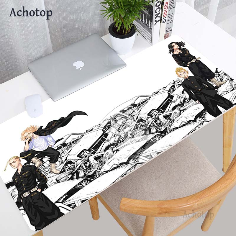Tokyo Revengers Anime Mouse Pad Gamer Computer Desk Mat Laptop Cabinet Mausepad PC Gamer Gaming Accessories Keyboards Mouse Pad