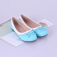 oversized exquisite carvings color matching match sweet ladies retro pumps low heeled bows wavy edge vents violet womens shoes