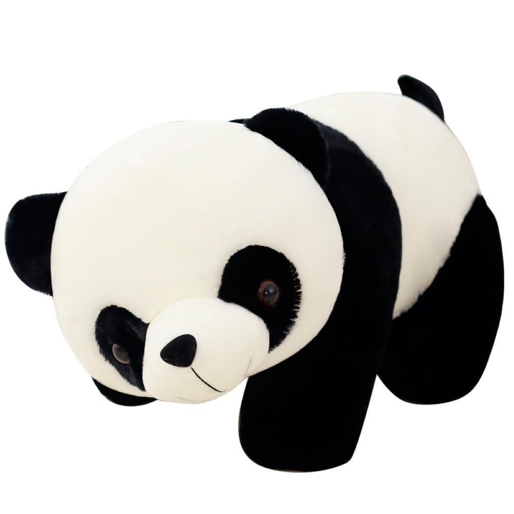 Cute Cartoon Panda Cotton Stuffed Doll Soft Plush Toy Kids Gift Home Party Decor