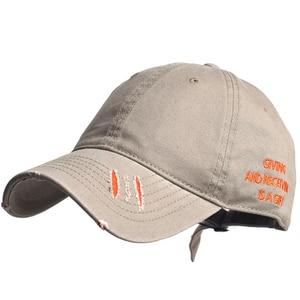 Vintage Cotton Distressed Outdoor Sport Baseball Cap Adjustable Men Women Dad Hat Casual Trucker Hat Style Low Profile