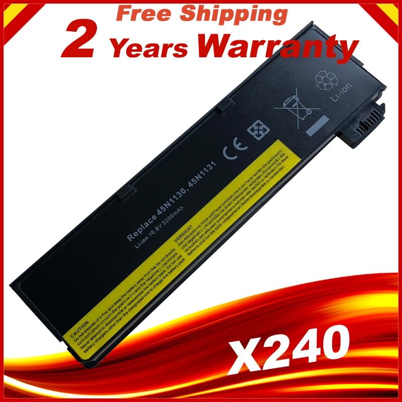 HSW 6cell New 5200mAh for Lenovo Laptop battery X240 X250 X260 T440 T450 T440S T450S T460 T460P T560 0C52861 0C52862 45N1125