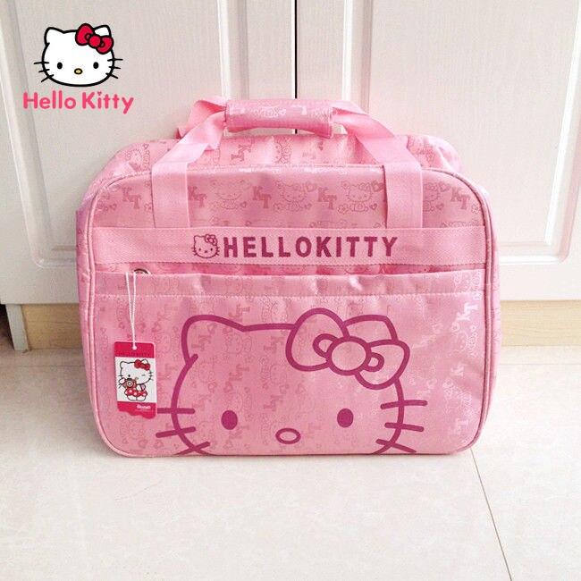 printio сумка hello kitty Милая мультяшная дорожная сумка TAKARA TOMY на короткие расстояния с Hello Kitty, простая Водонепроницаемая износостойкая сумка-мессенджер через пле...