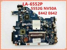PEW96 L01 LA-6552P POUR ACER Aspire 5552G Carte Mère Pour Ordinateur Portable NV50A MBR4602001 LA-6552P Passerelle NV50A PEW96 100% testé