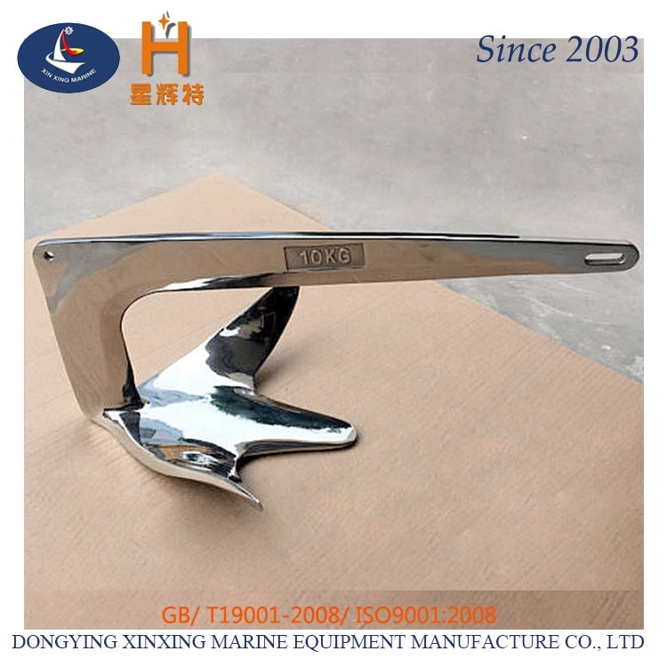 boat  accessories  Stainless Steel 316 plough anchor enlarge