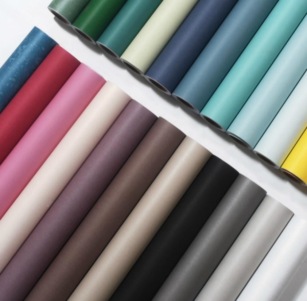 Rollo de papel tapiz autoadhesivo para armario de cocina, pegatinas de pared para muebles de PVC, papel de Contacto decorativo