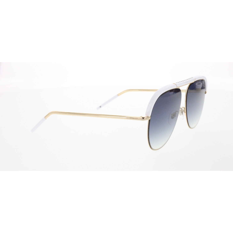 Las mujeres gafas de sol os 2811 03 metal oro orgánico gota piloto 58-14-145 osse