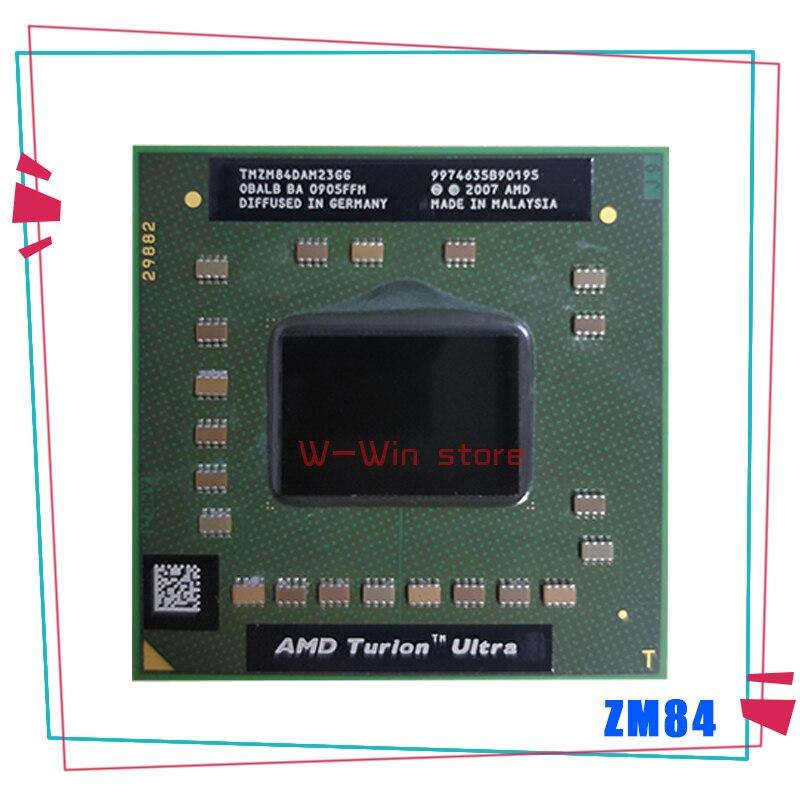 AMD Turion X2 Ultra ZM-84 ZM 84 ZM84 2,3 ГГц двухъядерный двухпоточный процессор TMZM84DAM23GG разъем S1