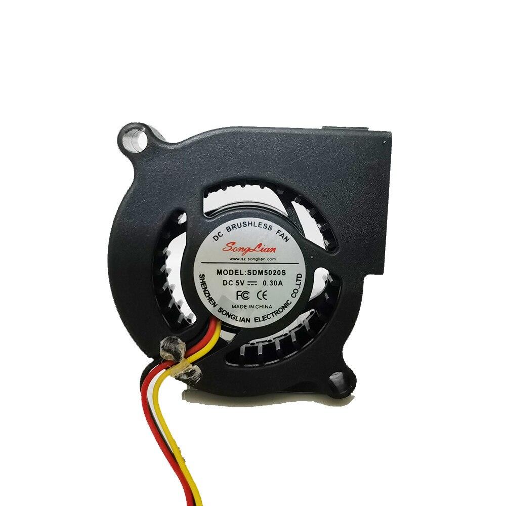 5020 Ventilador Turbina Centrífuga ventilador 5V 50mm 5CM 2 Pin / 3 pin Cooler