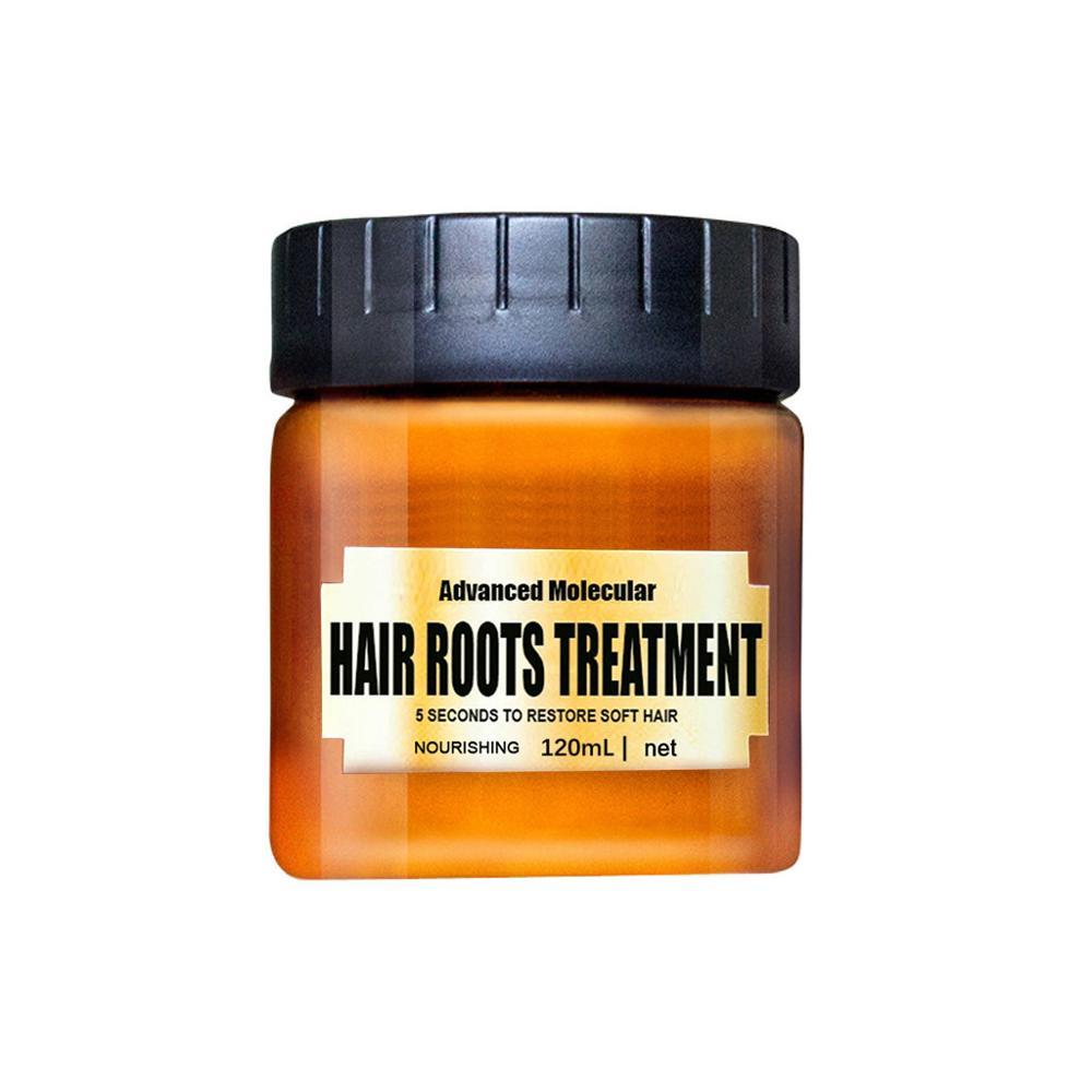 Mascarilla desintoxicante para el cabello de 120ml, tratamiento avanzado de raíces moleculares para el cabello, tratamiento mágico de recuperación, tratamiento para el cabello dañado