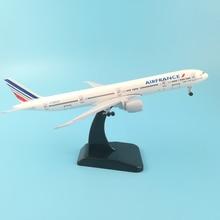 JASON TUTU 20cm Air France Plane Aircraft Model Diecast Metal Model 1400 Airbus 380 Concord Plane Airplane Model Toy Boeing 777