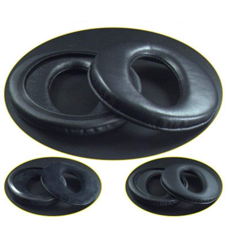 Almohadillas de repuesto de piel de oveja almohadillas de espuma almohadillas para los oídos cubre tazas piezas de reparación para auriculares SONY MDR-CD370