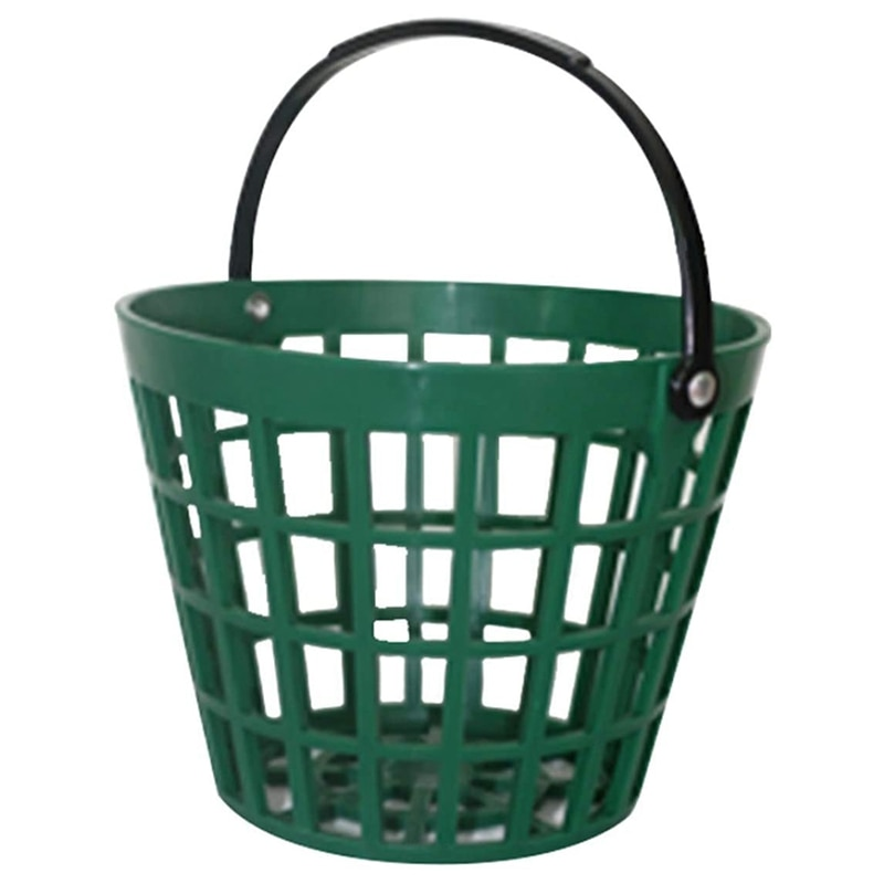 Golf Range Baskets Ball Carrying Buckets Golfball Storage Container with Handle for Outdoor Sport(25 Ball) недорого