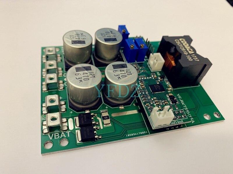 Módulo de carga DC Buck-boost, acumulador de batería de litio 50 V/15A, cargador MPPT, algoritmo de carga incorporado