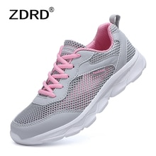 2021 Sneakers Women Breathable Mesh Casual Shoes Female Fashion Sneakers Platform Women Vulcanize Sh