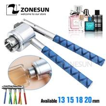 Sertisseur de capsulage dacier inoxydable de ZONESUN 13mm 15mm 18mm 20mm pour la bouteille de parfum