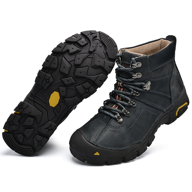 keep warm Waterproof Hiking Shoes Mountain Climbing Shoes Outdoor Hiking Boots Trekking Sport Sneakers Men Hunting Trekking