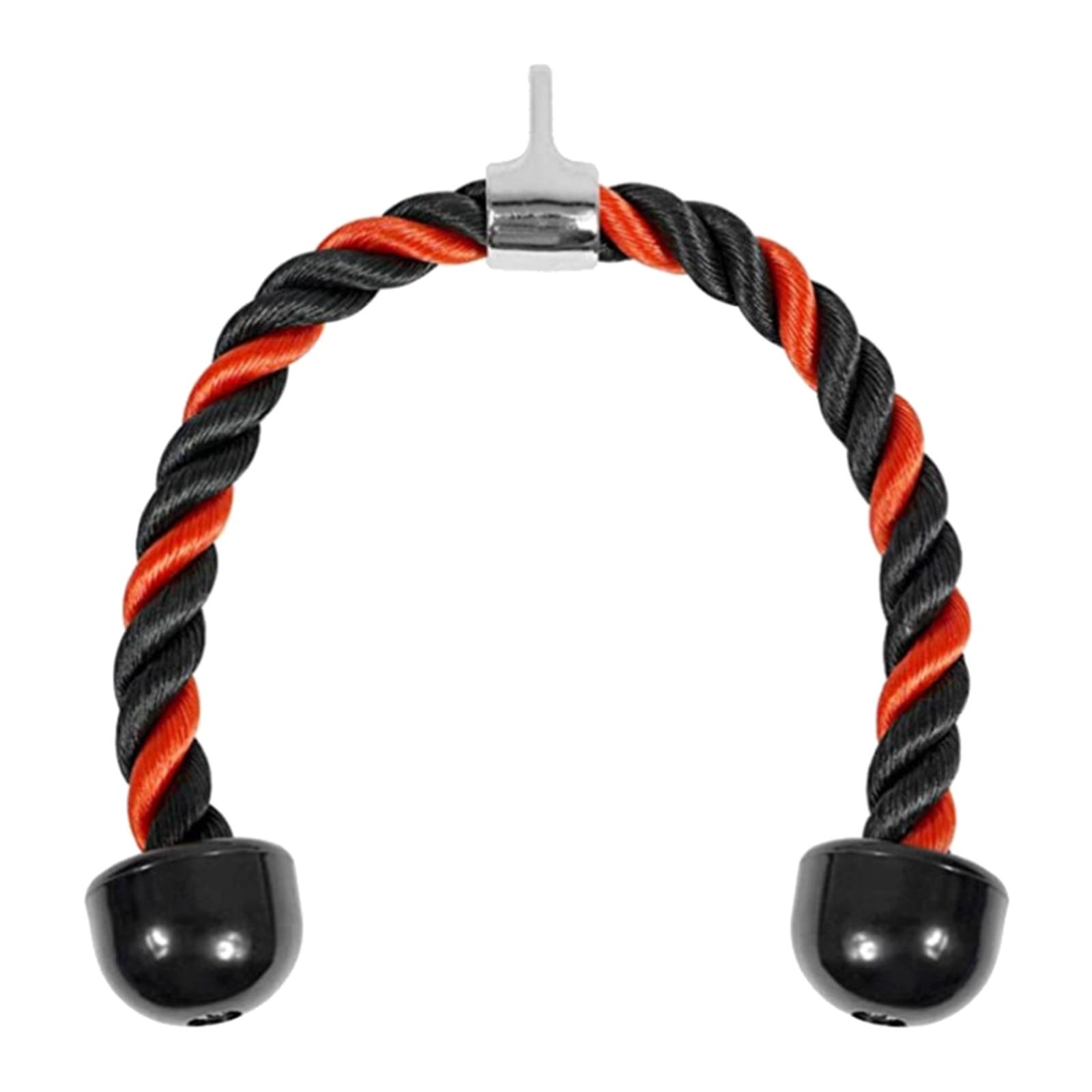 Lat Bicep-cuerdas para tríceps, accesorio de Cable con mango extraíble con 2...