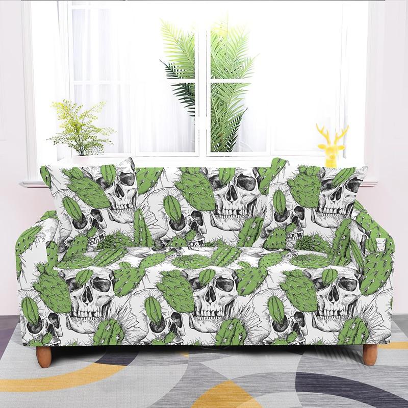 مخدر الصبار مرونة غطاء أريكة 1/2/3/4 مقاعد تمتد يغطي ل غرفة المعيشة كل غطاء الغبار واقية الأريكة يغطي