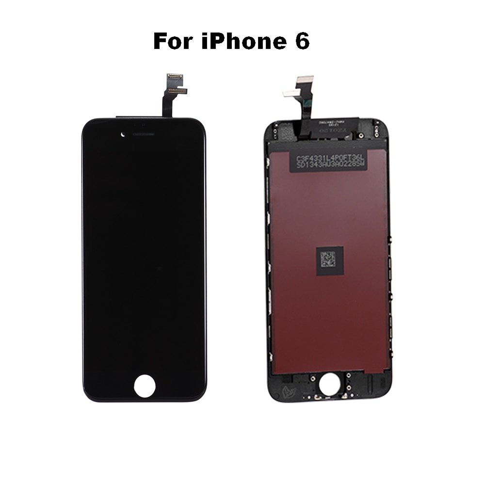 AAA+++ LCD Display For iPhone 6 7 8 6S Plus Touch Screen Replacement For iPhone 5S  No Dead Pixel+Tempered Glass+Tool+TPU enlarge