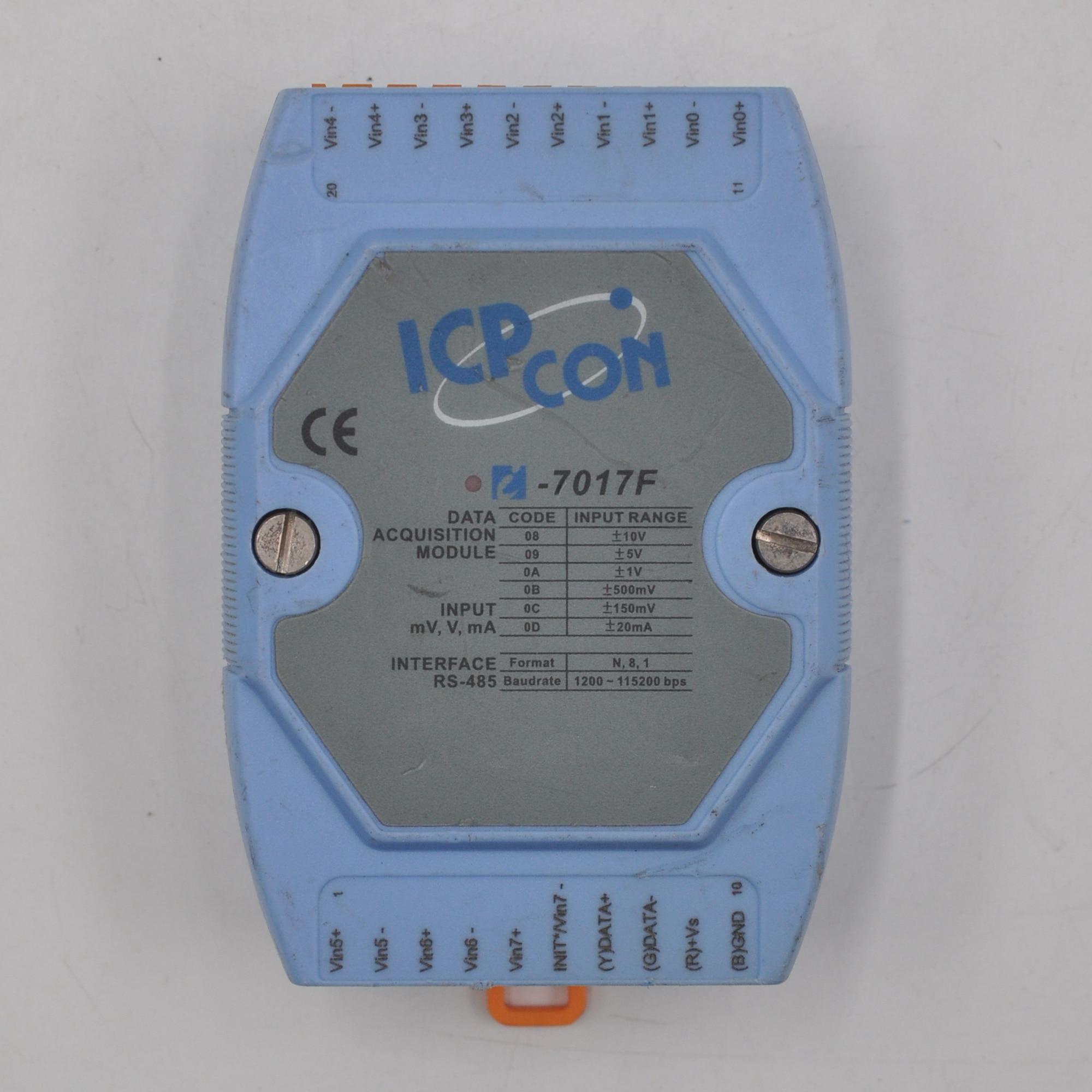Canais do Modo o Módulo I-7017f cr do Icp das Suporta o Módulo de Entrada Analógico de 8 Rápido