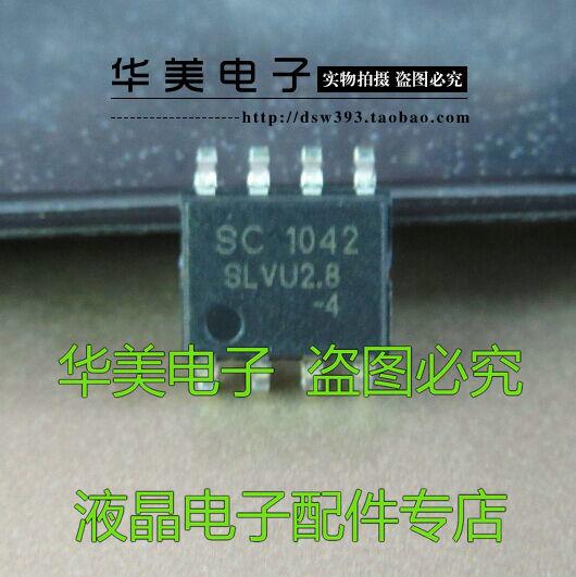 Freies Lieferung. SLVU2.8-4 neue diode TVS 4 kanal 2,8 V, 600 w SOP-8