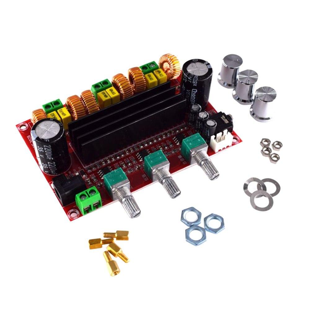 Amplificador DE POTENCIA de Audio Digital, placa 2*80W + 2,1 W TPA3116D2,...