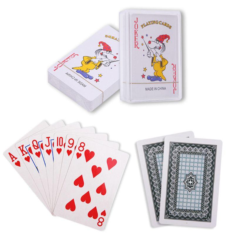 Стандартный-покер-Косынка-классические-фокусы-Настольная-игра-бар-вечерние-игральные-карты