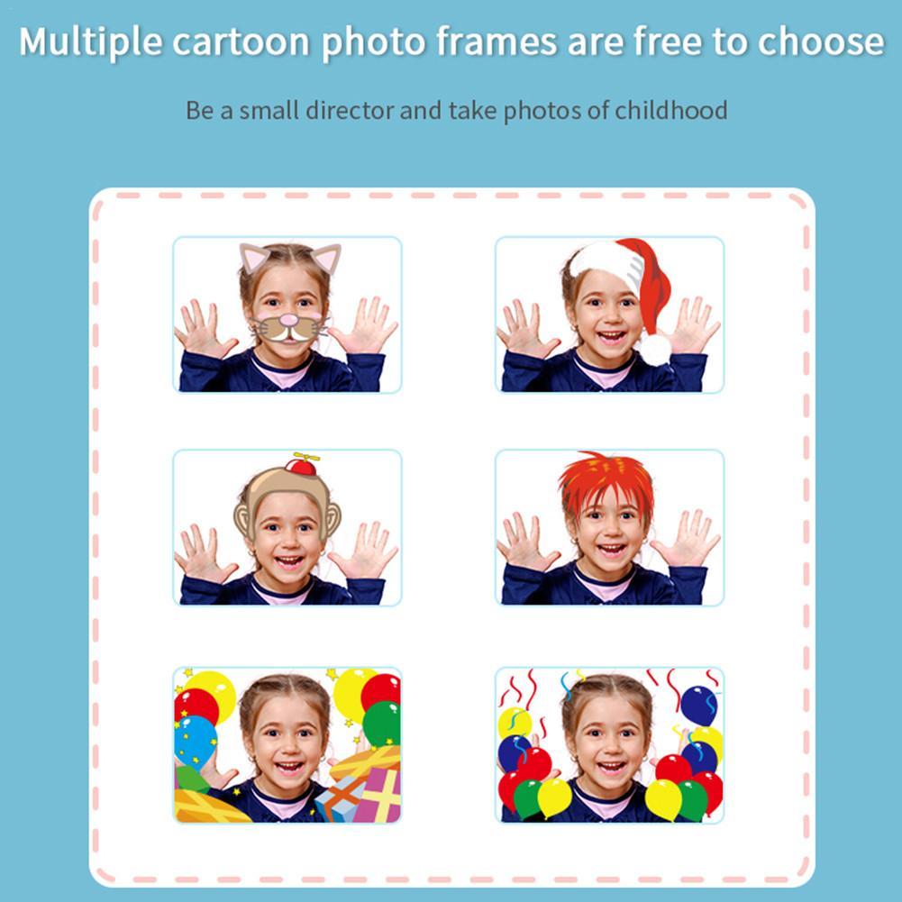 Children Mini Digital HD 1080P Video Recording 1.2 Million Pixels 2 Inch IPS Screen Dual Camera For Kids Birthday Christmas Gift enlarge