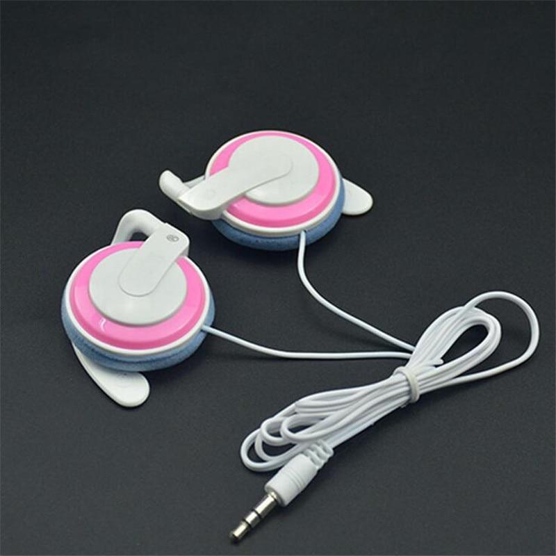 3.5mm Stereo Running Earphones Sport Wired Headphones Earphone Earbud Universal For Mobile Phone Sony Samsung Computer MP3 4