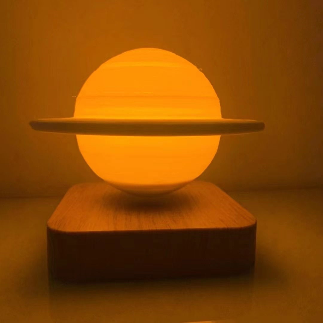 Creative Maglev Moon Lamp Light 3D Moon Lamp 3D Saturn Moon Light Lamp home decoration desk lamp floating light Christmas gifts