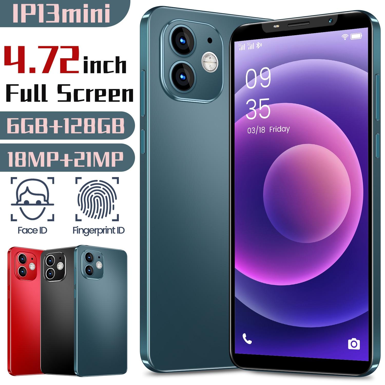 Hot Sale Global Smartphone IP13MINI 4.72 Inch Water Drop Screen 6GB+128GB Deca Core Dual SIM 18MP+21