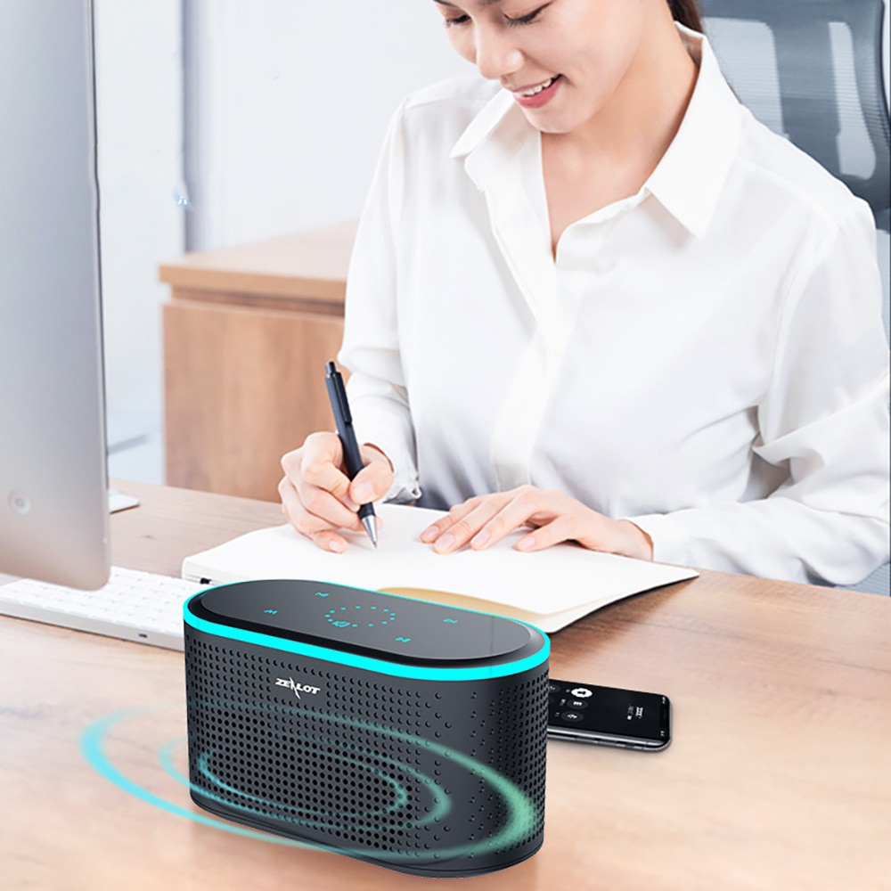 2021 New Launch Touch Bluetooth Speaker Portable Wireless Speaker Stereo Bass Speaker With Built-in Microphone For Computer PC enlarge