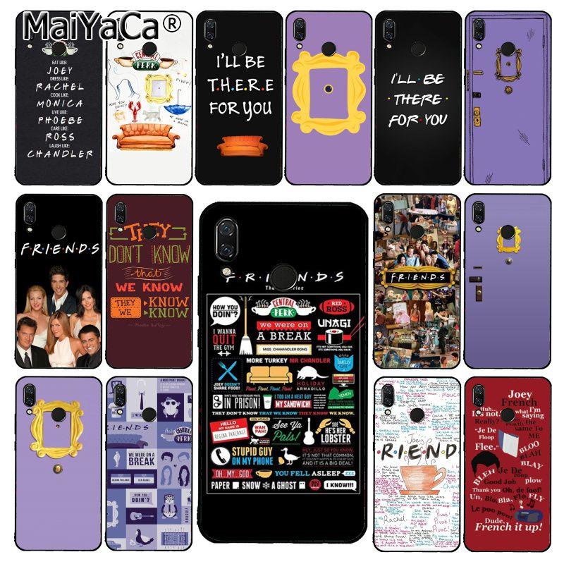 MaiYaCa amigos TV serie televisiva funda de teléfono para Xiaomi Redmi8 4X 6A 9 ir Redmi 5 5Plus Note5 7 Note8pro 9 9pro