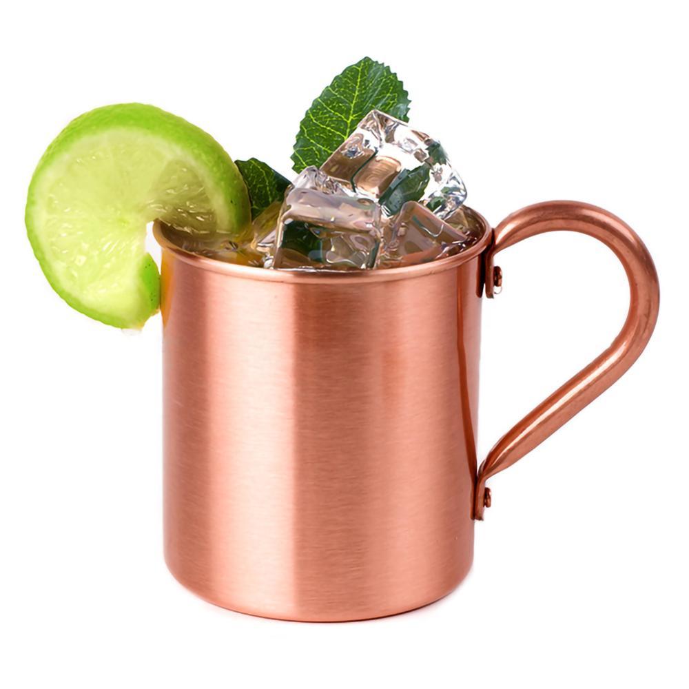 Venta de taza de cobre puro creativa, hecha a mano duradera, taza de cóctel de mula de Moscú para restaurante, Bar, vasos de cocina de fiesta