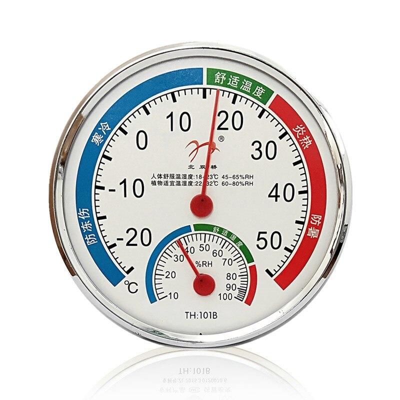 Комнатный настенный Измеритель температуры и влажности, термометр и гигрометр для сауны, комнатный бытовой, Прямая поставка, 1 шт.