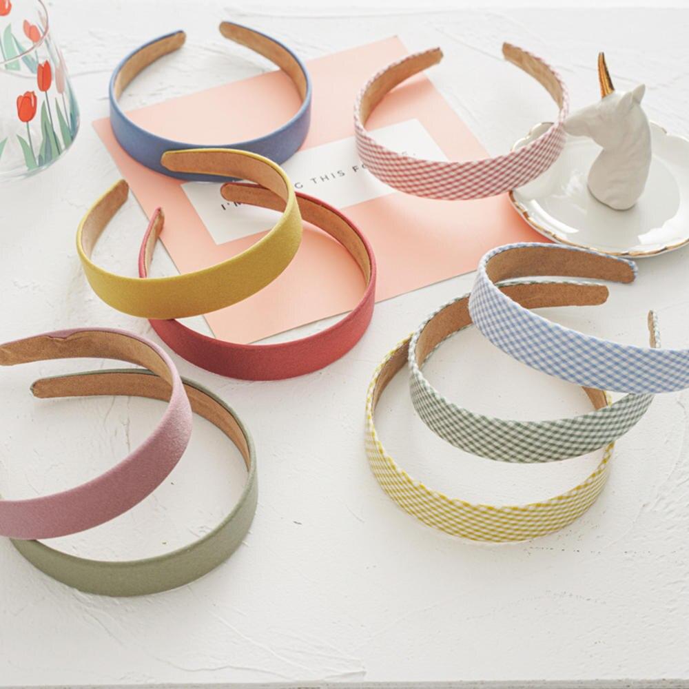 Diadema ancha Vintage de Color liso para mujer, diadema para niñas, diadema para la cabeza, sombreros elegantes para mujeres y niñas