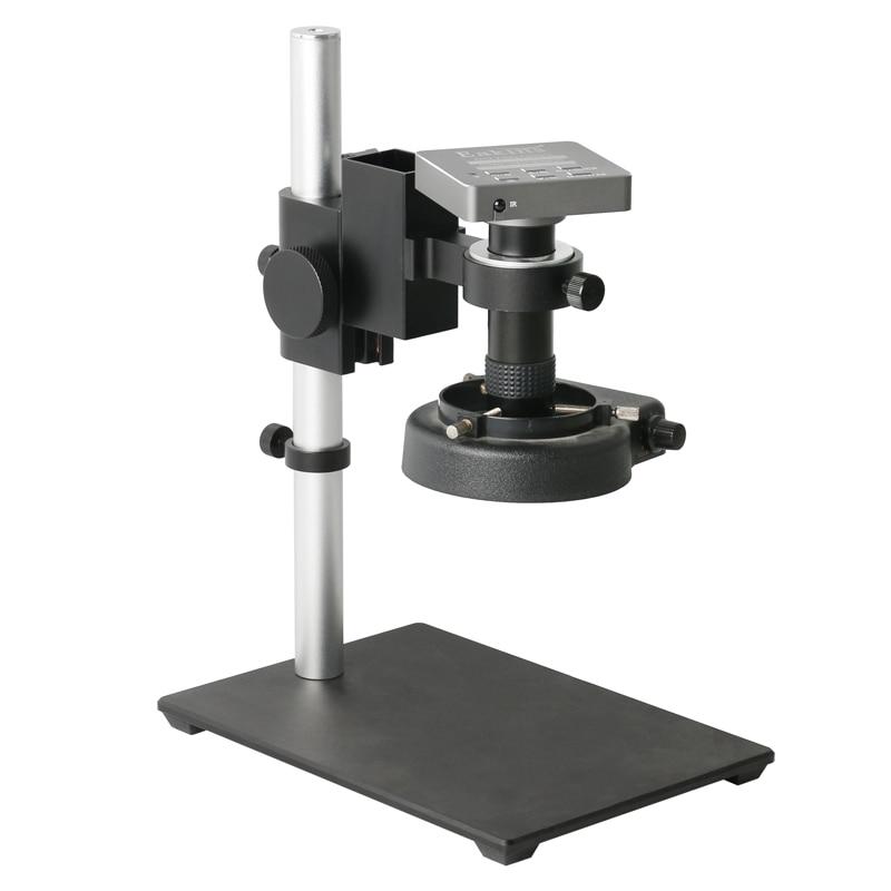 130X التكبير عالية العمل المسافة عدسة 1080P VGA HDMI USB الصناعية الإلكترونية الرقمية PCB لحام كاميرا فيديو المجهر