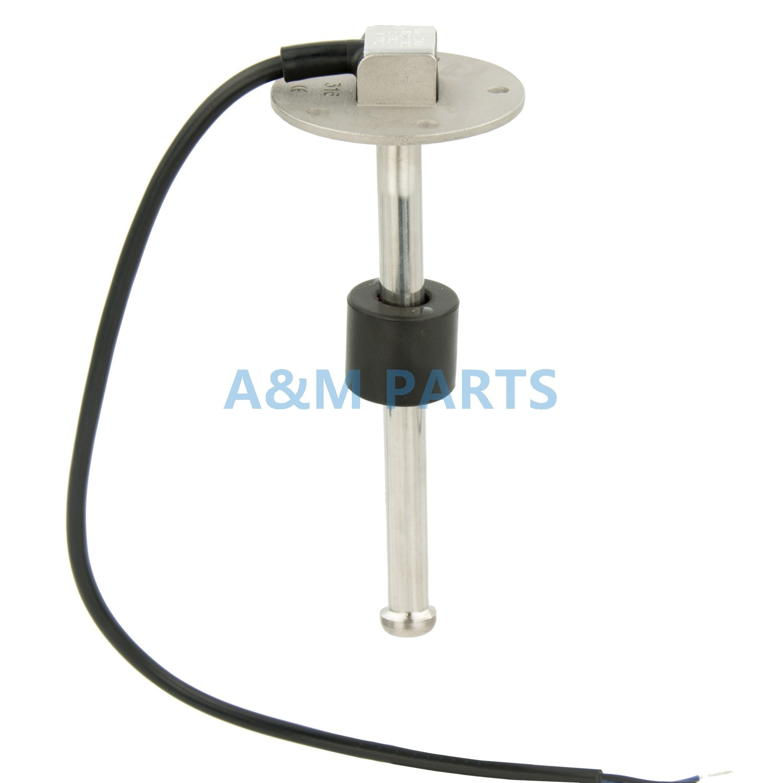 Sensor de nível 0-200 ohms do combustível da água do caminhão marinho rv da unidade remetente do combustível do barco de kus 190mm