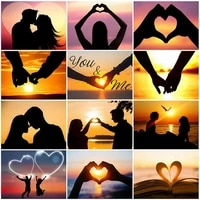 couple love painting by numbers set for adults diy pictures drawing canvas %d0%ba%d0%b0%d1%80%d1%82%d0%b8%d0%bd%d1%8b %d0%bf%d0%be %d0%bd%d0%be%d0%bc%d0%b5%d1%80%d0%b0%d0%bc 4050 room wall art home decor