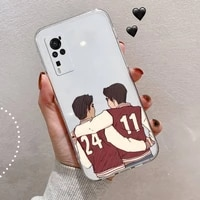 dylan obrien teen wolf phone case transparent for vivo v y iqoo 3 15 17 19 5 70 51 52 30 20 s se luxury shell cover