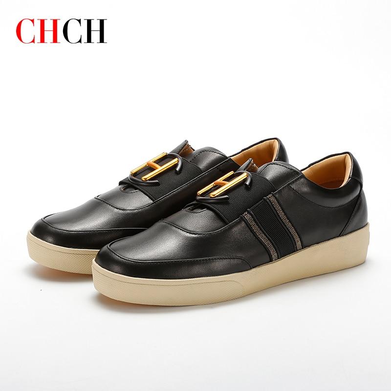 CHCH أحذية من الجلد السيدات أحذية نسائية حذا فردي للسيدات 2021 أحذية الخريف حذاء مسطح