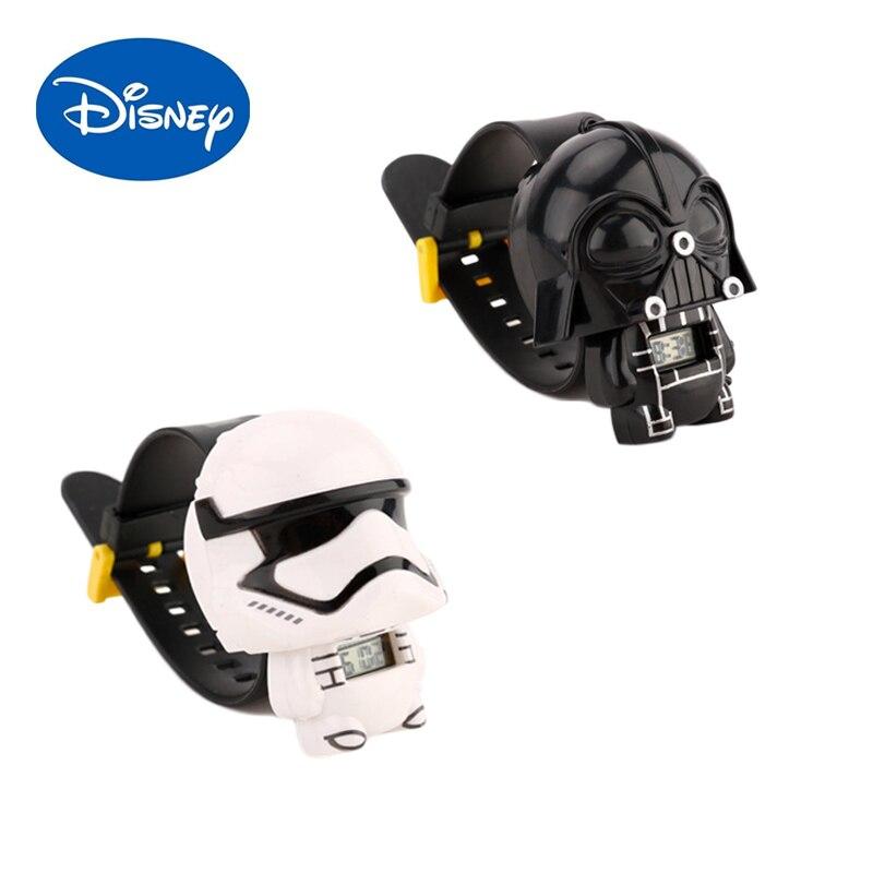 Disney смотреть фильмы Звездные войны часы Штурмовик Дарт Вейдер экшн-Фигурки игрушки для детей коллекционные куклы подарки на день рождения