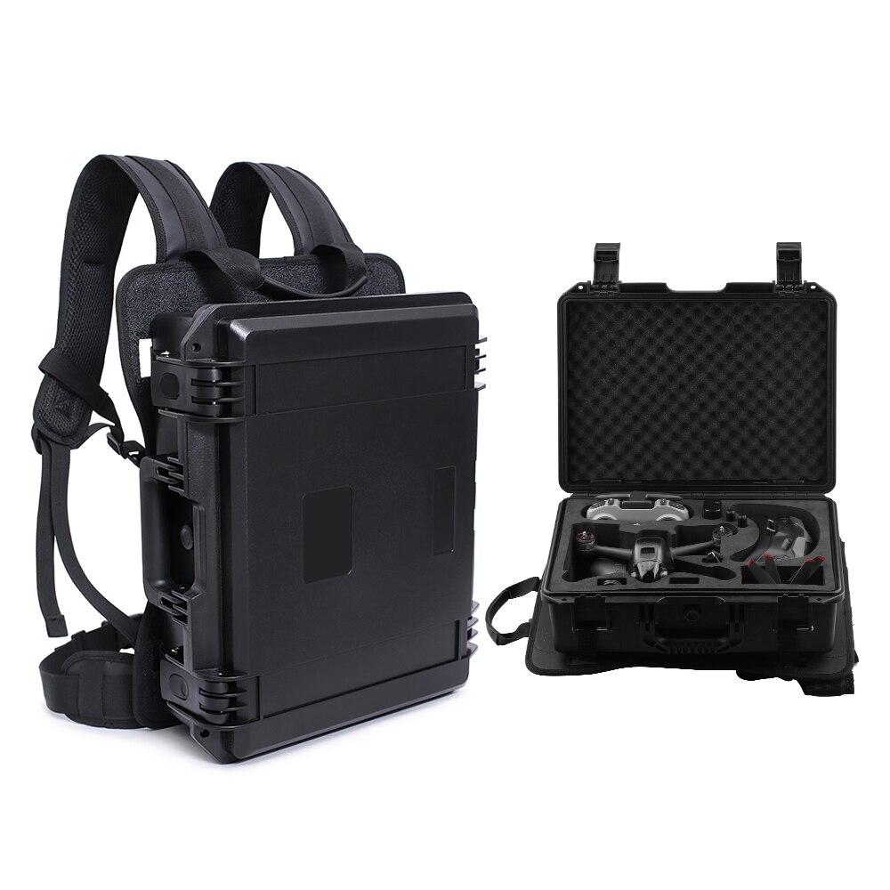 حقيبة ظهر صلبة محمولة للطائرات بدون طيار DJI FPV ، حقيبة سفر مقاومة للماء ، صندوق واقي ، ملحقات